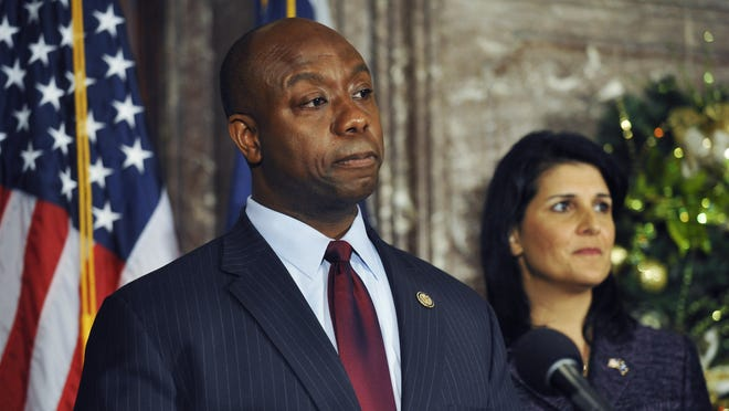 GOP Rep. Tim Scott was appointed by S.C. Gov. Nikki Haley to replace Jim DeMint in the U.S. Senate.