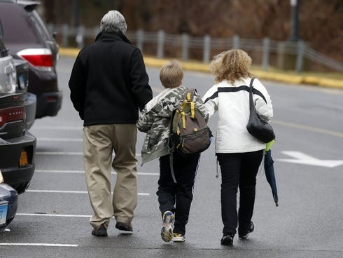School Shooting on Young Student Is Walked Into Hawley School In Newtown  Conn   On