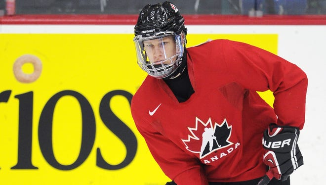 Halifax center Nathan MacKinnon will be one of the top draft prospects on display at the world junior championships.