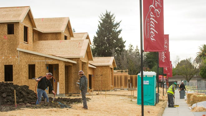 Luxury home builder Toll Brothers is building 51 new single-family houses at The Estates in Sunnyvale, Calif.