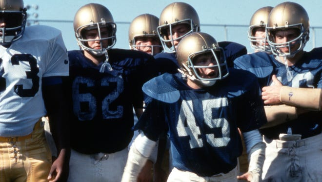 No need for a movie, there's a real-life version of Rudy on Notre Dame's campus this season.