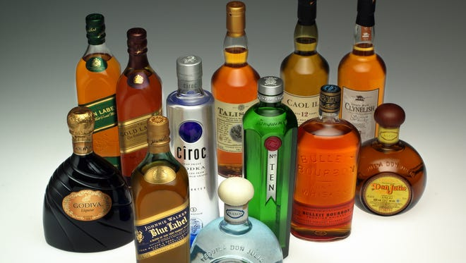 Stocks of alcohol makers have performed well this year.