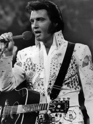 Singer Elvis Presley died at age 42 in 1977.