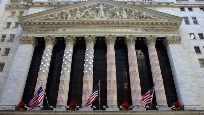 The New York Stock Exchange. File.
