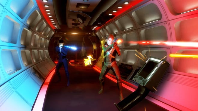 A scene from 'Star Trek: The Video Game.'