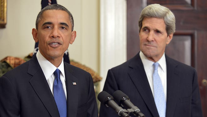 President Obama announces on Friday that he is nominating Sen. John Kerry to be secretary of State.
