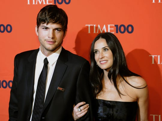 Image result for ashton kutcher demi moore