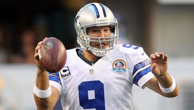 Cowboys quarterback Tony Romo is playing at a high level right now with 12 touchdowns and only three interceptions over his past six games.