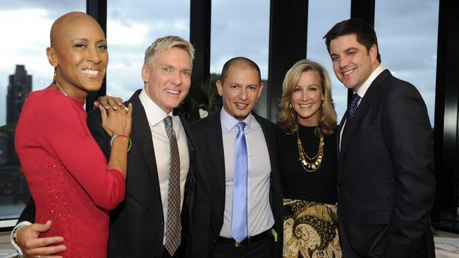 Sam Champion and Rubem Robierb married today in New York City.