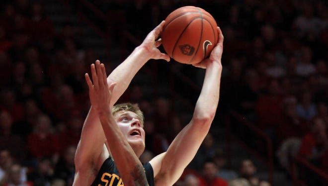 South Dakota State's Nate Wolters scored a Division I-best 53 points on Thursday night.