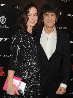 Ronnie Wood, 65, and Sally Humphreys, 34, announced their engagement in late October.