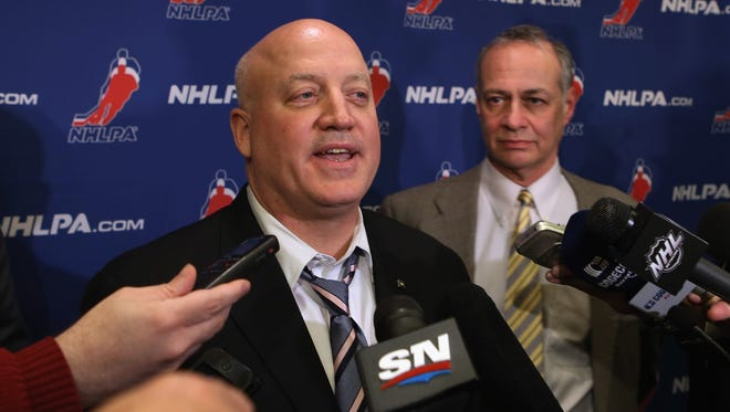 The NHL's Bill Daly spoke by phone with the union's Steve Fehr on Saturday.