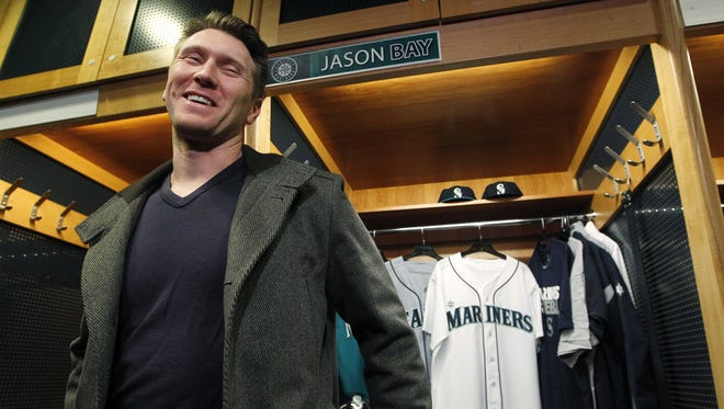 Jason Bay joined the Mariners after three subpar seasons with the Mets.