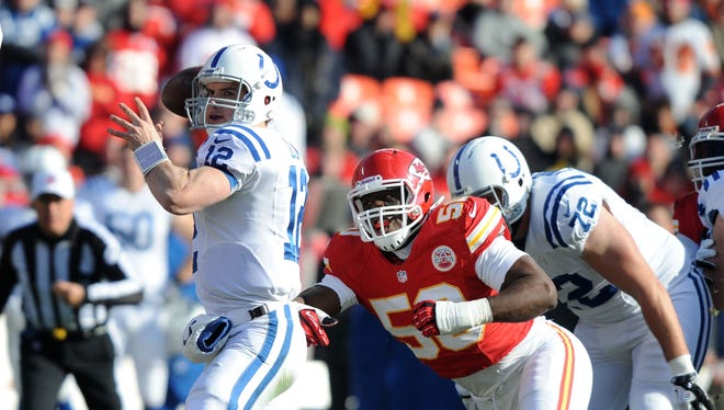 Andrew Luck is the first quarterback drafted No. 1 overall as a rookie to lead his team to postseason as a rookie.