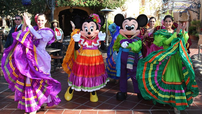 Disney celebrates Hispanic heritage on Three Kings Day: Many Hispanic communities in the U.S. celebrate Three Kings Day with parades and performances depicting the Biblical story of three kings following a star to find the baby Jesus, bringing gifts of frankincense, gold and myrrh.
