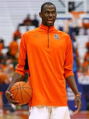 Baye Moussa Keita is averaging 5.3 points and 5.4 rebounds this season for Syracuse.