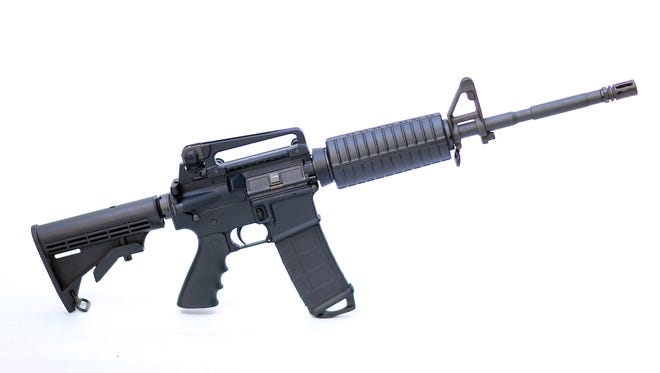 Police briefly questioned an 'open carry' activist who walking around parts of Portland, Maine, carrying an unloaded AR-15-style assault rifle with a high-capacity magazine, the type of semiautomatic weapons used in the Newtown, Conn., school massacre. In Maine, it's legal to carry an unloaded weapon in public.