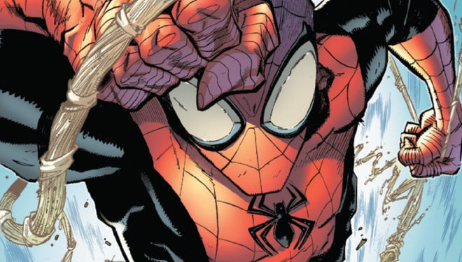 "Who's behind the mask of the superhero in ""Superior Spider-Man"" may be a shock to some."