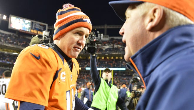 Peyton Manning's monster season is a big reason the Broncos are 12-3 with a shot at homefield advantage in the AFC.