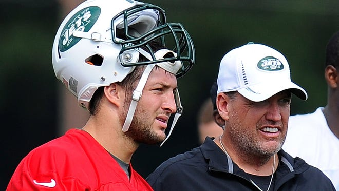 It seems Rex Ryan and the Jets have done something it seems few have: Get on Tim Tebow's bad side.