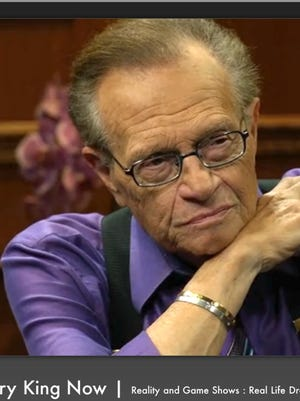 'Larry King Now' airs on Hulu.