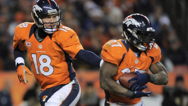 Broncos quarterback Peyton Manning and running back Knowshon Moreno both had big games against the Cleveland Browns in Week 16.