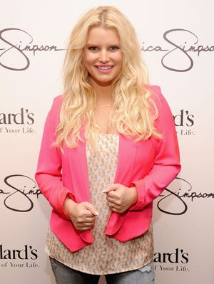 It'll be baby No. 2 for Jessica Simpson, photographed at an event Nov. 17.