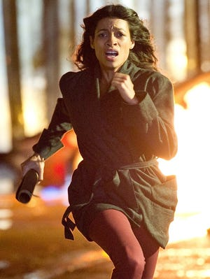 Rosario Dawson plays a hypnotherapist who becomes  embroiled in the search for a stolen painting in 'Trance,' from director Danny Boyle