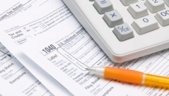 Most state taxes can't be completed until the federal 1040 is done.