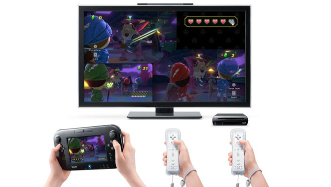 New video game system, the Nintendo Wii U, released in November, has a wireless motion-sensitive tablet controller. It also uses older Wii remotes.