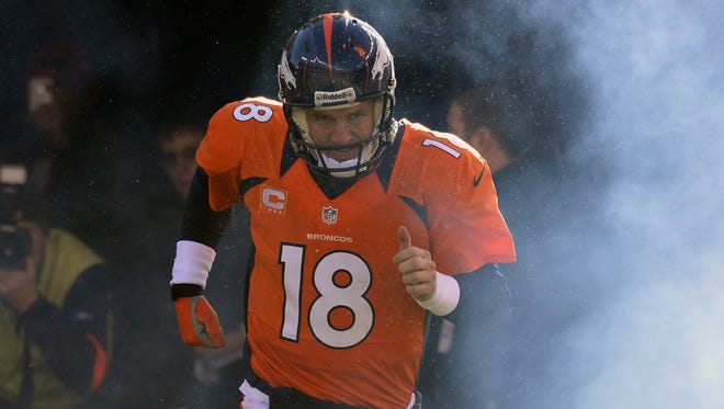 Broncos quarterback Peyton Manning is headed back to the Pro Bowl after missing all of last season because of neck surgery.