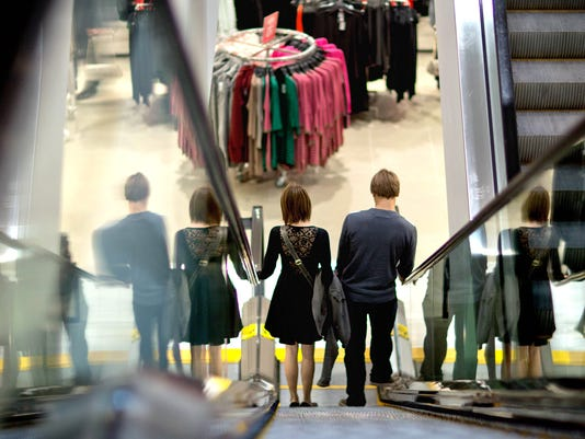shopping escalator 2012