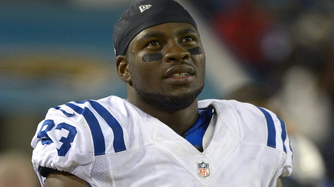 Colts rookie tight end Dwayne Allen has three touchdowns among his 43 receptions in the first 15 games this season.