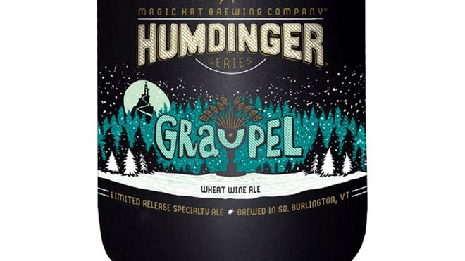 Graupel Wheat Wine Ale beer from Magic Hat Brewing Co., in South Burlington, Vt., is 10.8% ABV. (Gannett/File)