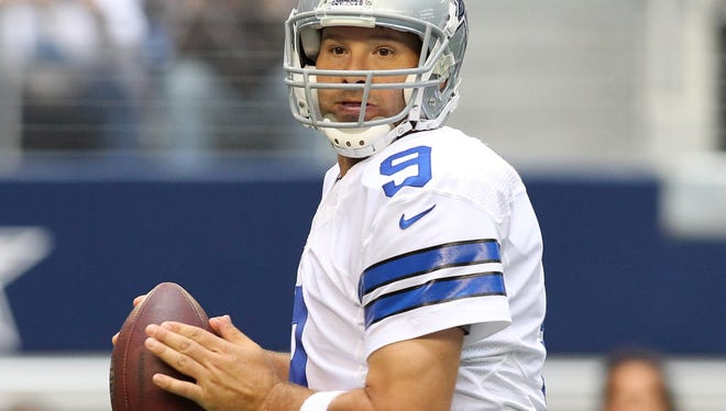 Cowboys quarterback Tony Romo has a chance to silence some critics if his team wins Sunday in Washington.