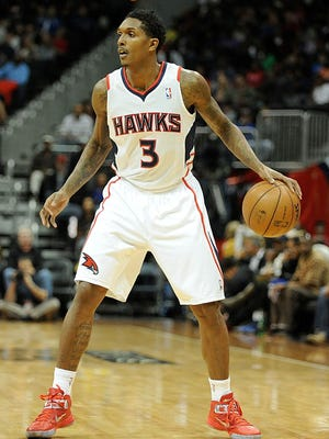 Atlanta Hawks shooting guard Louis Williams (3) in action against the Indiana Pacers during the second quarter at Philips Arena.