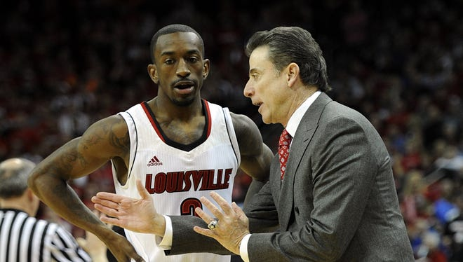 Russ Smith had 17 of his 21 points in the second half.