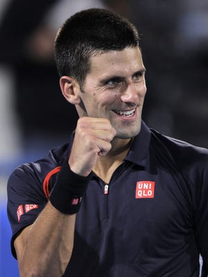 Novak Djokovic of Serbia is dominant on hardcourts and perhaps the best all-surface player overall.