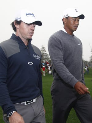Expect major victories from Rory McIlroy and Tiger Woods in 2013.