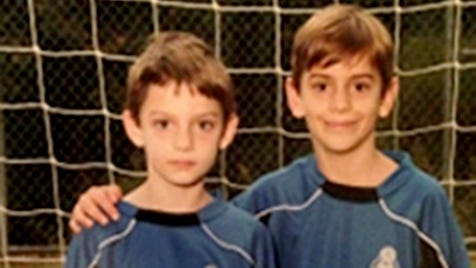 This photo provided by the Georgia Bureau of Investigation, shows Henry Cleary, 7, left, and Ben Cleary, 9, of Roswell, Ga.