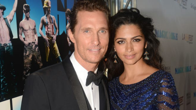 Camila Alves and Matthew McConaughey welcomed baby boy Livingston on Dec. 28. The two married in June.