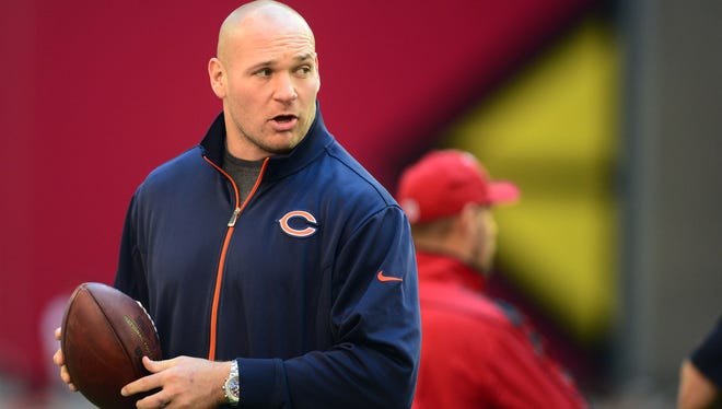 MLB Brian Urlacher has missed four games in 2012, possibly his last with the Bears.
