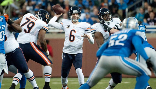 Bears QB Jay Cutler did everything he could Sunday to get his team to postseason.