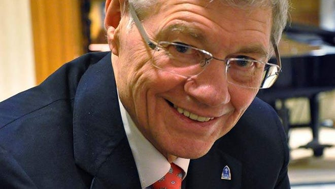 A federal court judge has granted a temporary restraining order that allows Tom Monaghan to avoid contraceptive coverage for employees in his Ann Arbor, Mich., Domino's Farms property management company. (Gannett, John Gallagher/Detroit Free Press/File)