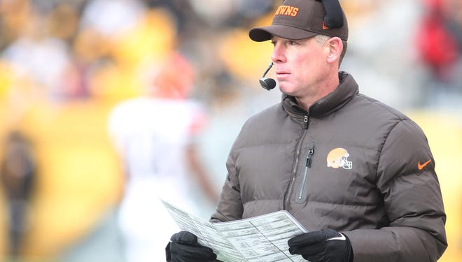 Pat Shurmur was 9-23 in two seasons in Cleveland.