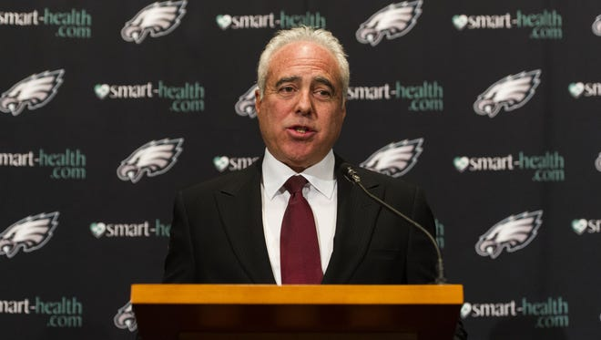 Eagles owner Jeffrey Lurie is looking for a head coach for the first time since 1999.