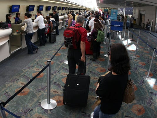 airport line ticket counter 2012 usat