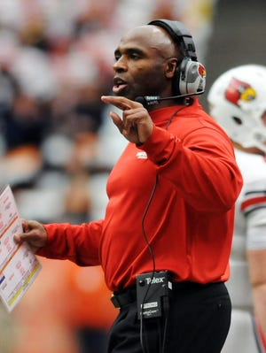 Louisville head coach Charlie Strong spent 15 years on the staff at Florida.