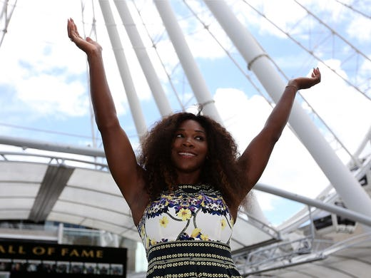 Serena Williams' go-to guy: Hitting partner Big Sascha