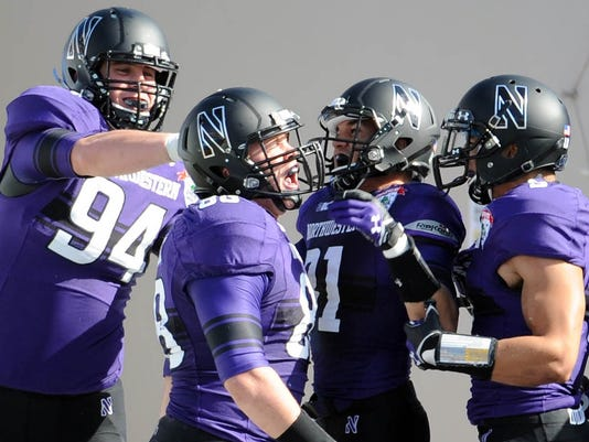 996ca7fd42b Northwestern beats Miss. St. in Gator Bowl to end drought